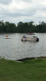 Grandpasvisit-boat